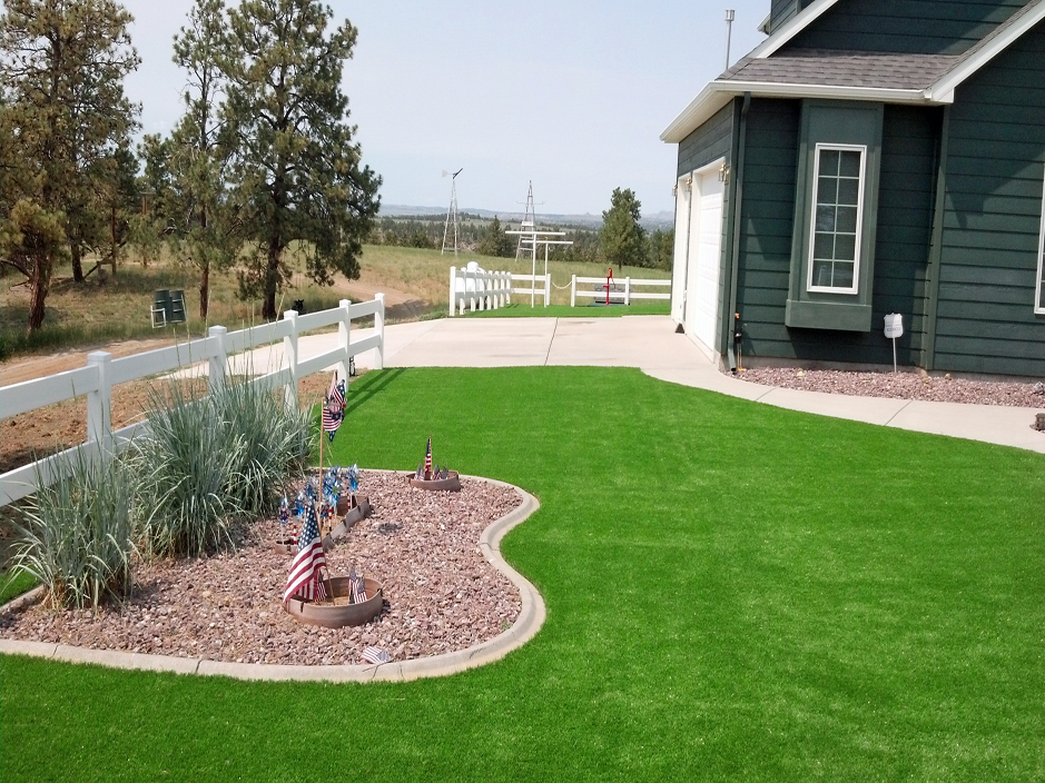 Installing Artificial Grass Sugar City Colorado Lawns Front Yard