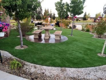 Artificial Grass Photos: Artificial Grass Installation Franktown, Colorado Playground Flooring, Commercial Landscape