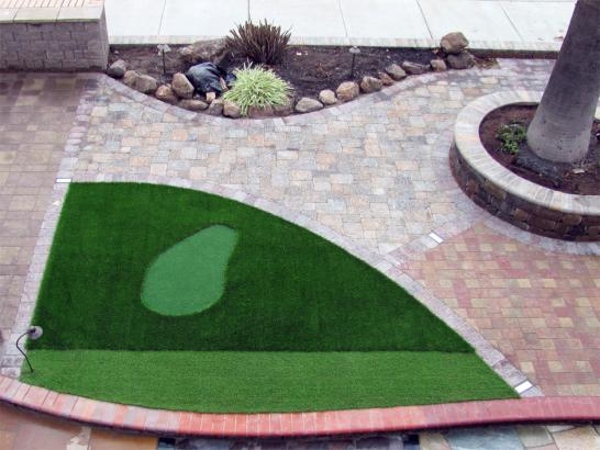 Artificial Grass Photos: Artificial Turf Installation Gold Hill, Colorado Putting Green Flags, Front Yard Landscaping Ideas