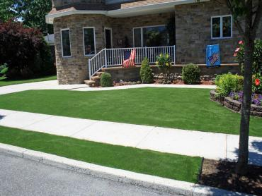 Best Artificial Grass Indian Hills, Colorado City Landscape, Front Yard Design artificial grass