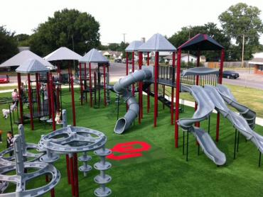 Artificial Grass Photos: Grass Turf Strasburg, Colorado Playground Safety, Parks