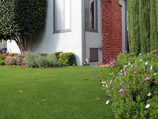 Artificial Grass Photos: How To Install Artificial Grass Meeker, Colorado Landscape Design, Small Front Yard Landscaping