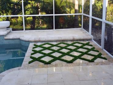 Artificial Grass Photos: Installing Artificial Grass Orchard, Colorado Rooftop, Above Ground Swimming Pool