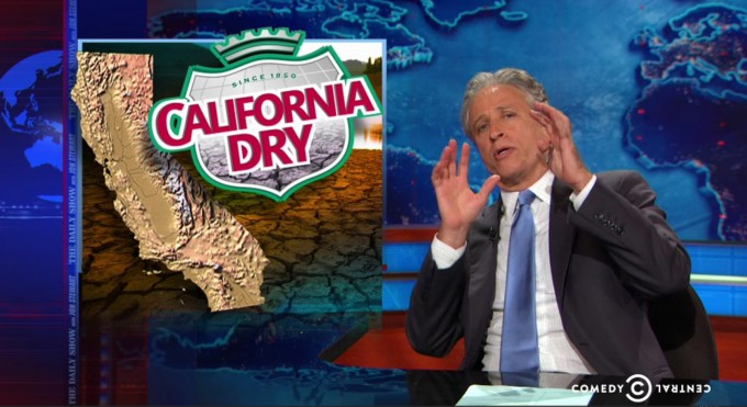 Artificial Grass | Jon Stewart References California as a Jurassic World But This Time... BOOM! Everything Went Horribly Wrong.