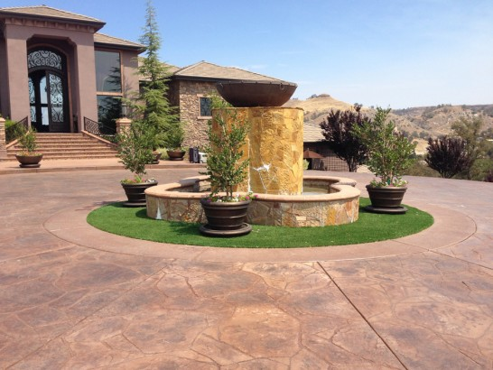 Artificial Grass Photos: Synthetic Lawn Moffat, Colorado, Small Front Yard Landscaping