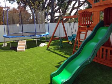 Artificial Grass Photos: Synthetic Lawn South Fork, Colorado Backyard Deck Ideas, Backyard Designs
