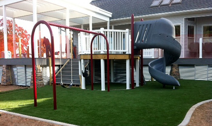Artificial Grass for Playgrounds in Colorado